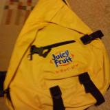 vand geanta ,rucsac,JUICY FRUIT,nou,practic ,scoala,sport,