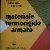 D. Nistor - Materiale termorigide armate - Carti Constructii