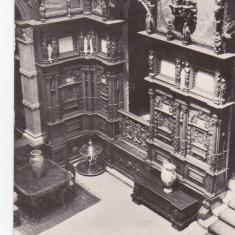 Bnk cp Sinaia - Muzeul Peles - Holul de onoare - circulata
