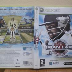 Brian Lara Cricket 2007 (Xbox 360) (ALVio) + alte jocuri xbox ( VAND / SCHIMB ) - Jocuri Xbox 360, Sporturi, 3+