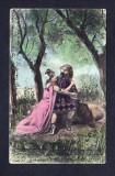 Romania 1905 - Carte postala Litografiata din ciclul Samson & Dalila 3