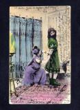 Romania 1905 - Carte postala Litografiata din ciclul Samson & Dalila 7