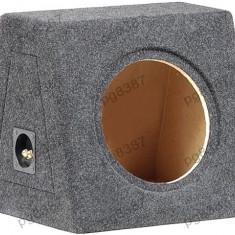 Carcasa difuzor, subwoofer, MDF, capacitate 30L, pentru difuzor de 250mm.- 000872
