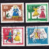 Timbre GERMANIA 1965 - BASME DE FRATII GRIMM - Timbre straine
