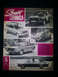Revista Sport si Tehnica Nr. 5 / 1972