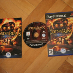 Lord of the Rings The Third Age PS2 - Jocuri PS2, 12+, Single player