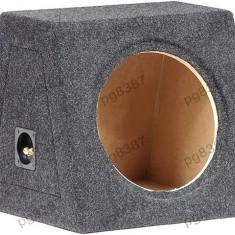 Carcasa difuzor, subwoofer, MDF, capacitate 40L, pentru difuzor de 300mm.- 000874