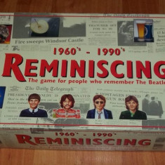 Joc board game Reminiscing 1997 1960s - 1990s Paul Lamond (The Beatles) - Jocuri Board games