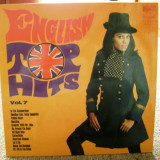 Disc vinil / vinyl - English Top Hits - vol.7 - 1972
