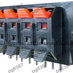 Conector boxe 10 pini, montare pe panou - 123745