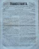 Cumpara ieftin Transilvania , Foaia Asociatiunii transilvane pentru literatura romana si cultura poporului roman , Brasov , nr. 10 , 1876