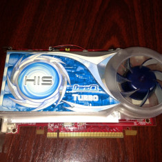 PLACA VIDEO HIS X1550 ICEQ - Placa video PC His, PCI Express, 256 MB, Ati