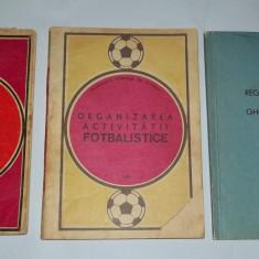 trei carti fotbal CNEFS FRF FIFA Regulamentul de organizare a activitatii fotbalistice 1972, Organizarea activitatii fotbalistice 1980