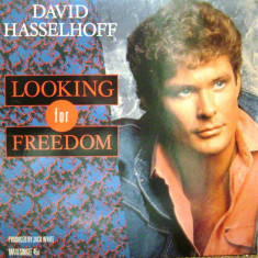Disc vinil - David Hasselhoff ‎– Looking For Freedom - 1988 - Muzica Rock & Roll Altele