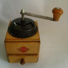 Rasnita manuala din lemnpt piper / cafea PGH Zella Mehlis Hugh 22cm - Rasnita Cafea
