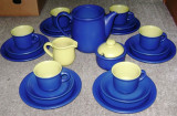 Set / Serviciu- mic dejun / ceai / cafea - ceramica - 6 persoane
