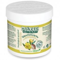 Crema de picioare pentru mentinerea umiditatii pielii, cu uree si plante