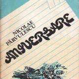 ANIVERSARE de NICOLAE PARVULESCU - Roman, Anul publicarii: 1982