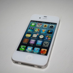 iPhone 4 White 16 GB orange RO