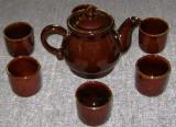 Set / Serviciu - ceai / cafea - ceramica - 6 persoane