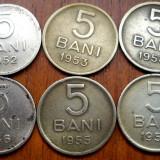 LOT MONEDE DE 5 BANI - Moneda Romania