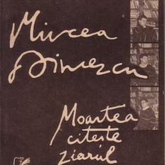 Mircea Dinescu-Moartea citeste ziarul - Carte poezie Altele