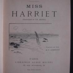 GUY DE MAUPASSANT - MISS HARRIET {illustrations de CH. MOREL, gravure sur bois de G. LEMOINE, editie princeps, 1901} - Carte Editie princeps