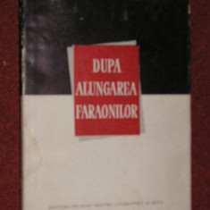 DUPA ALUNGAREA FARAONILOR - CONSTANTIN PRISNEA (autograf)