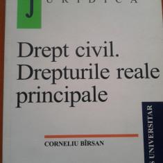DREPT CIVIL. DREPTURI REALE PRINCIPALE - Corneliu Birsan, Alta editura
