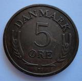 5 ore 1964 Danemarca AUNC - UNC PRET REDUS