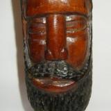 Statuie africana sculptata din lemn inaltime 28cm - Sculptura