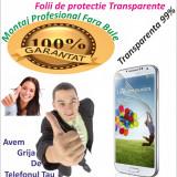 Folie de protectie Samsung Galaxy S4 i9500 i9505 Transparenta MONTAJ GRATUIT