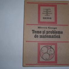 Teme si probleme de matematica Mircea Ganga,rf3/2