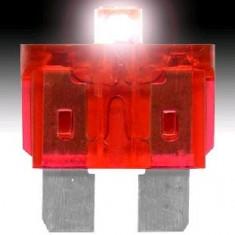 Sigurante Auto Plate cu LED Set 21 Buc - Se aprind cand se arde siguranta, Universal