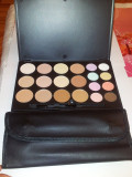 Trusa Machiaj Make-up Profesionala Camuflaj Corectoare 20 Nuante Culori Tip Fraulein38 + set Pensule 12 / set