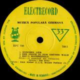 Ioan Sieber / Renate Follmer - Muzică Populară Germană (Vinyl), VINIL, electrecord