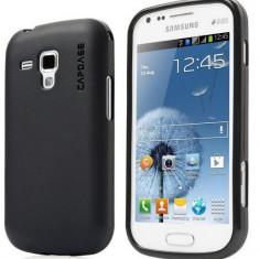 Husa silicon ultraslim neagra pentru telefon Samsung S7562 Galaxy S Duos - Husa Telefon