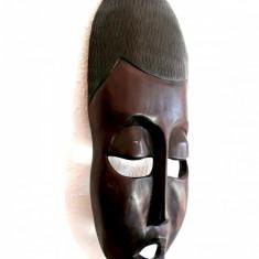MASCA AFRICANA DE CEREMONIE SCULPTATA DINTR-O SINGURA BUCATA DE LEMN - Arta din Africa