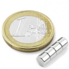 Magnet neodim disc, diametru 5 mm, putere 700 g