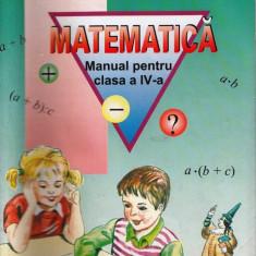 MATEMATICA - MANUAL PT CLASA A IV A de ION PETRICA ED. PETRION - Manual scolar, Clasa 4