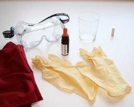 Lichid magnetic (ferofluid) foto mare