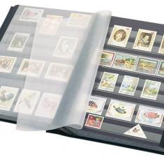Lindner clasoar pentru timbre, 30 file/60 pagini negre