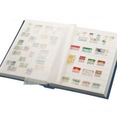 Lindner clasoar pentru timbre 8 file/16 pagini alba
