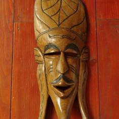 Sculptura - Masca deosebita realizata din lemn - model deosebit !!!