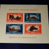 Colita Munca In Comunicatii L.p. 246 MH - Timbre Romania, Transporturi