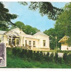 Carte postala(ilustrata maxima)-BACAU-Tescani-George Enescu - Carte Postala Moldova dupa 1918, Necirculata, Printata