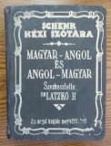 Carte - Dr. Latzko Hugo - Schenk Kezi Szotara - Magyar-angol es angol-magyar