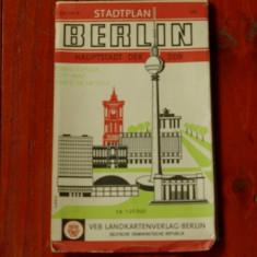Harta orasului BERLIN - Stadtplan - hauptstadt der DDR
