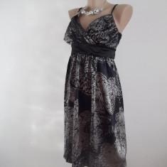 Rochie pentru okazii speciale marca Miso - Rochie de seara Miso, Marime: M, M, Negru, Midi, Fara maneca