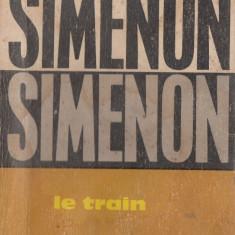 LE TRAIN de GEORGES SIMENON (IN LIMBA FRANCEZA)